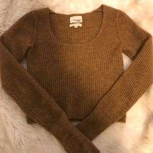 Beautiful Wilfred Free Cropped Knit